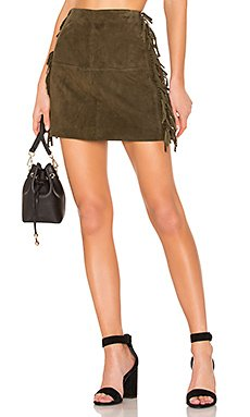 X REVOLVE Serafina Leather Mini Skirt                     House of Harlow 1960