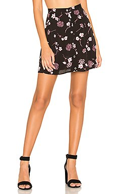 Night Garden Mini Skirt                     MINKPINK
