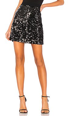 Ready For the Night Sequins Mini Skirt                     Sanctuary