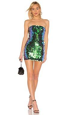 Marsha Strapless Mini Dress                     by the way.