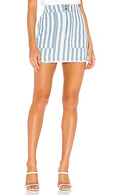 JACK by BB Dakota Say It In Stripes Skirt                     BB Dakota