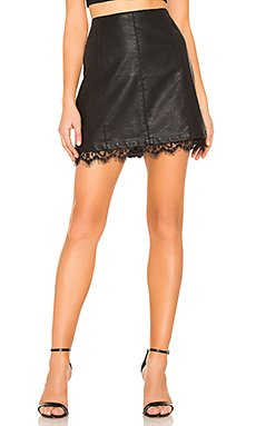 JACK by BB Dakota Waiting For Tonight Faux Leather Skirt                     BB Dakota