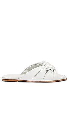 Windsor Knot Slide Sandal                     ALUMNAE