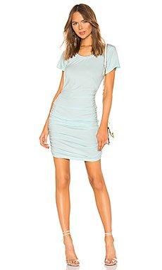 Draped Jersey Ruched Dress                     Bobi