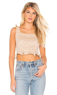Cropped Polka Dot Top                     J.O.A.