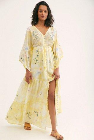 Daisy Island Kimono