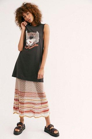 Dancing Outlaw Organic T-Shirt Dress