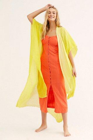 FP One Angelica Dip Dye Kimono