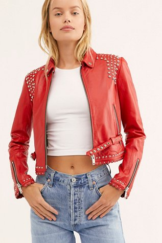 Meg Leather Jacket