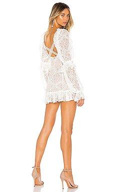 Sequoia Lace Mini Dress                     For Love & Lemons