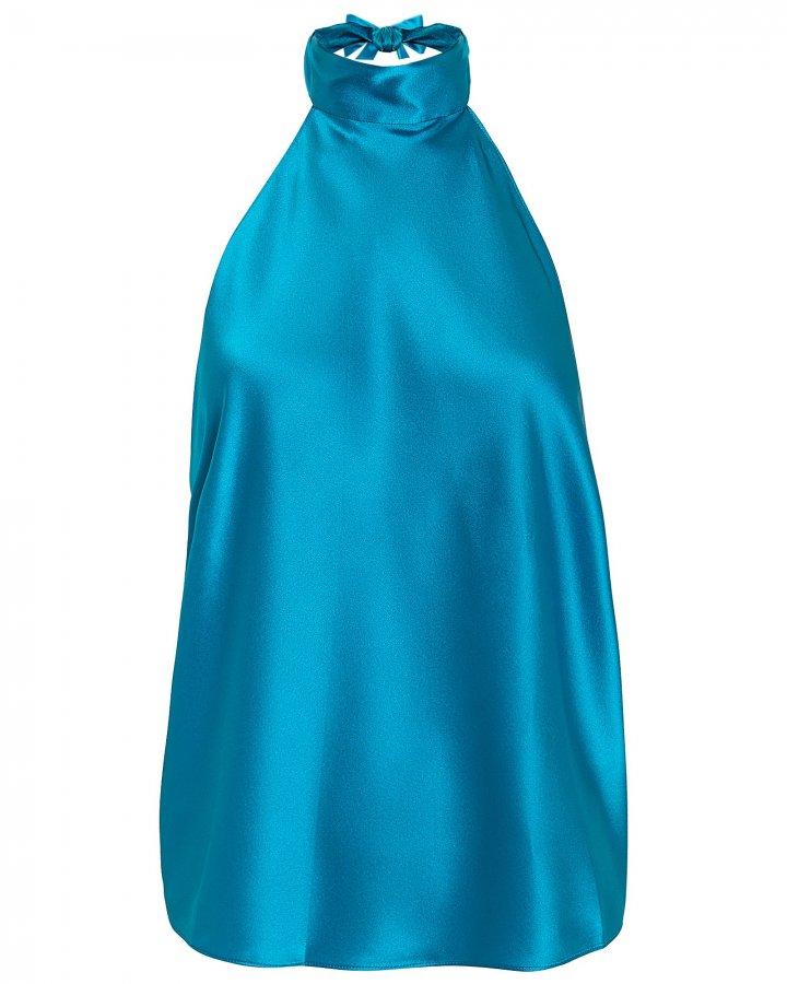 Manik Silk Halter Top