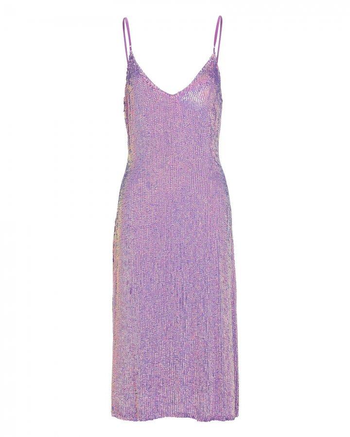 Denisa Sequin Slip Dress