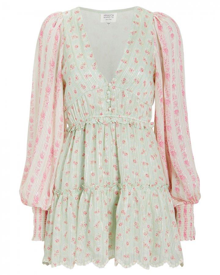Sana Long Sleeve Mini Dress