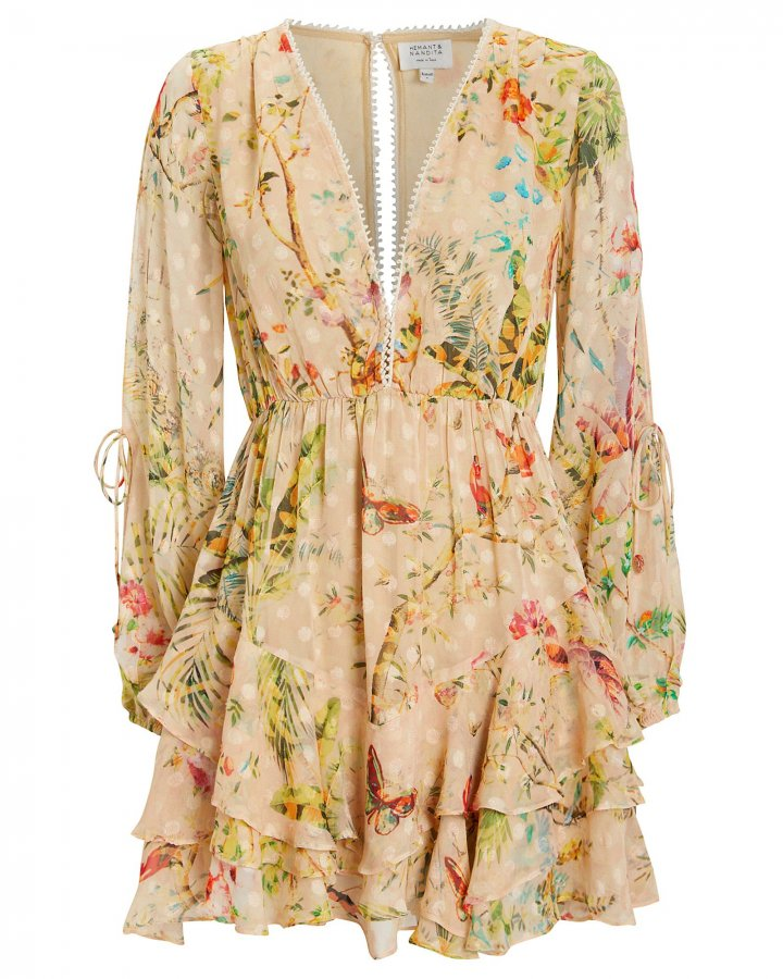 Veena Floral Dress