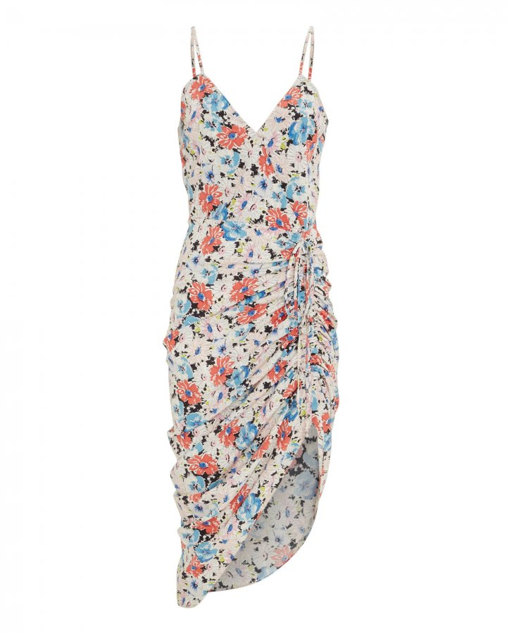 Annabelle Ruched Floral Dress