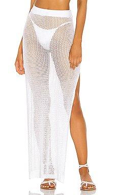 Yael Knit Maxi Skirt                     superdown