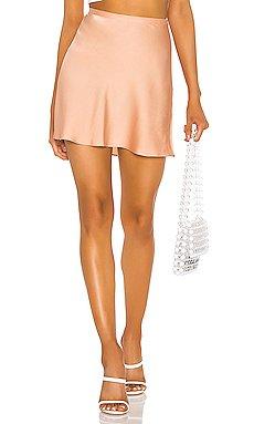 Scarlett Mini Lingerie Skirt                     Endless Summer