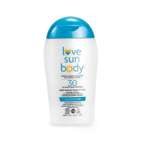 Love Sun Body 100% Natural Origin Mineral Sunscreen SPF 30 Fragrance