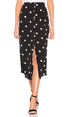 Retro Love Midi Skirt                     Free People