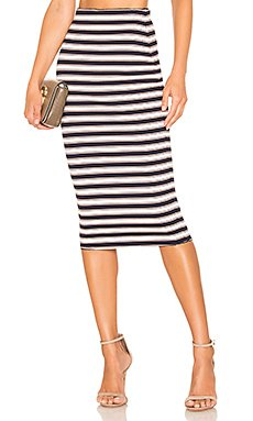 Karlie Midi Skirt                     Lovers + Friends
