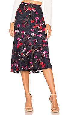 x REVOLVE Portia Midi Skirt                     House of Harlow 1960
