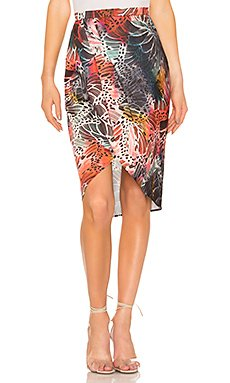 The Arlene Midi Skirt                     L\'Academie