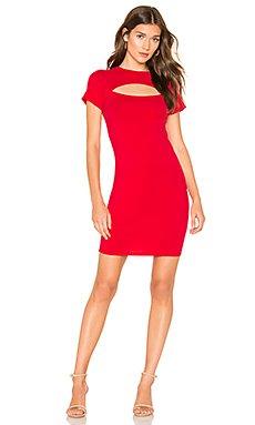 Draped Modal Jersey Bodycon Dress                     Bobi