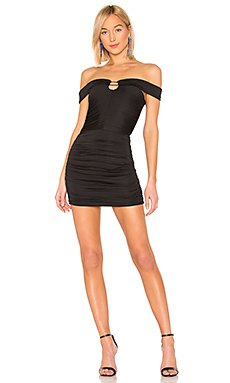 Lenny Off Shoulder Mini Dress                     by the way.