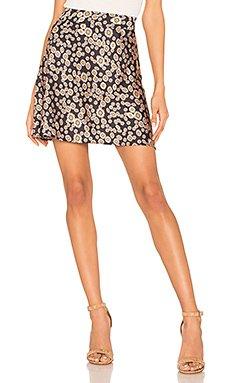 Phoebe Printed Mini Skirt                     Free People
