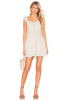 Buttoned Down Mini Dress                     J.O.A.