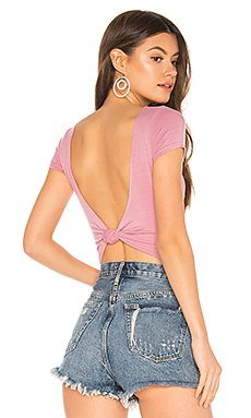 Sonia Twist Back Bodysuit                     superdown