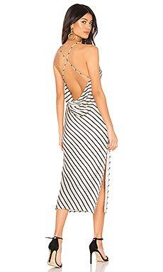 Paloma Cowl Back Dress                     superdown