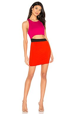 Mishel Color Block Dress                     by the way.