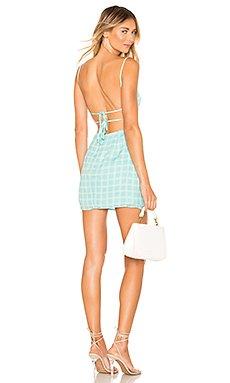 Elinn Strappy Back Dress                     superdown