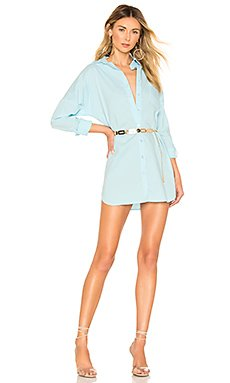 Miranda Button Up Dress                     superdown
