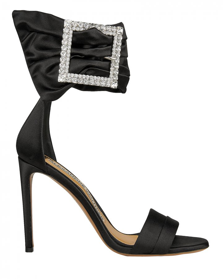 Yasmine Crystal Buckle Sandals