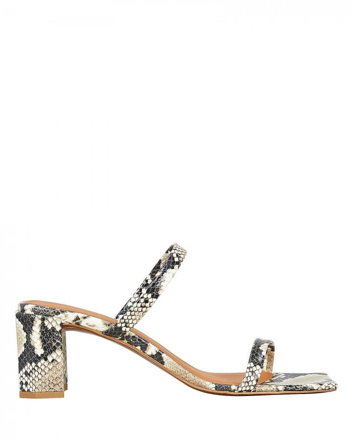 Tanya Snake Print Sandals