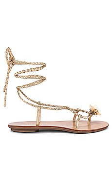 Wrap Sandal With Shells                     Loeffler Randall