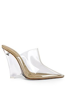 SEASON 8 PVC Wedge Mule Pump                     YEEZY
