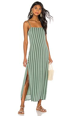 Hidden Cove Maxi Dress                     AMUSE SOCIETY