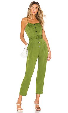 Strapless Belted Jumpsuit                     J.O.A.
