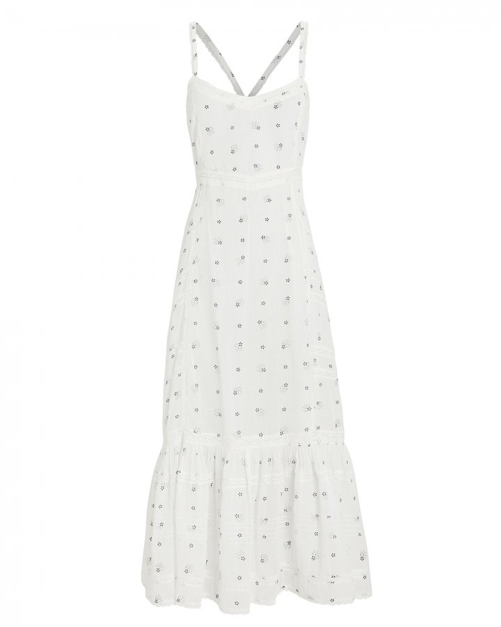 Edith Tiered Cotton Dress