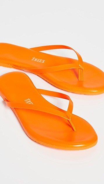 Lily Neon Flip Flops