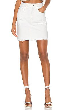 High Rise Deconstructed Skirt                     LEVI\'S