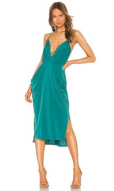 Drape Side Midi Dress                     BCBGeneration