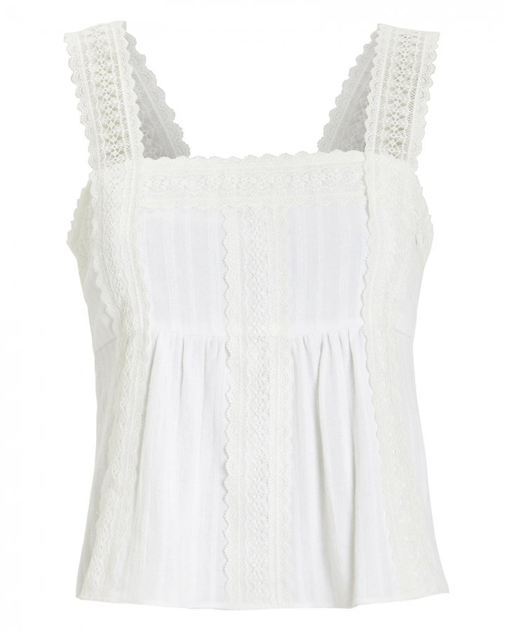 Laisey Cotton Lace Top