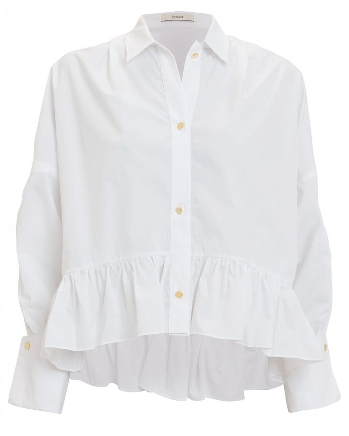 Penny Cotton Poplin Shirt
