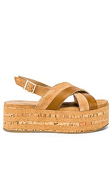 Sydney Cross Over Sandal                     Kaanas