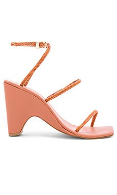 Woven Wedge Sandal                     JAGGAR