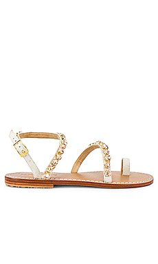 Asymmetrical Strap Sandal                     Mystique